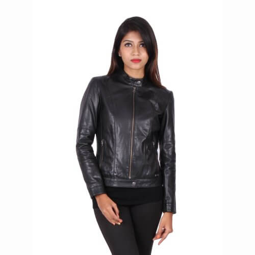 Classic Black Zipper Jacket