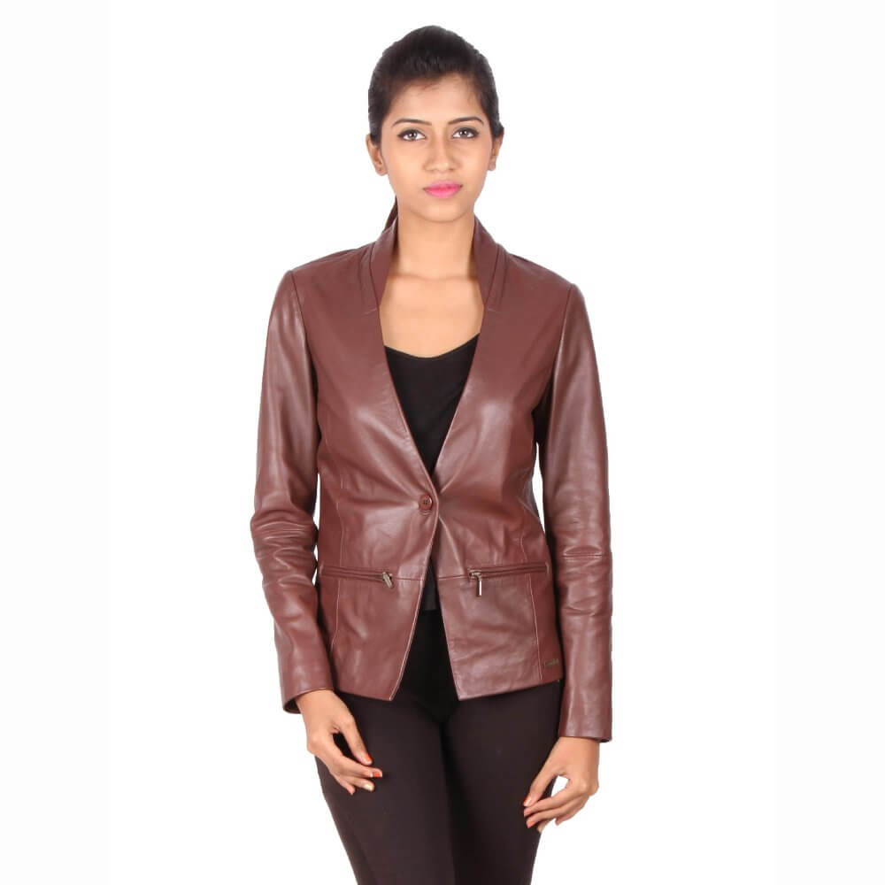 Theo Amp Ash Buy Women S Leather Blazer Personalized