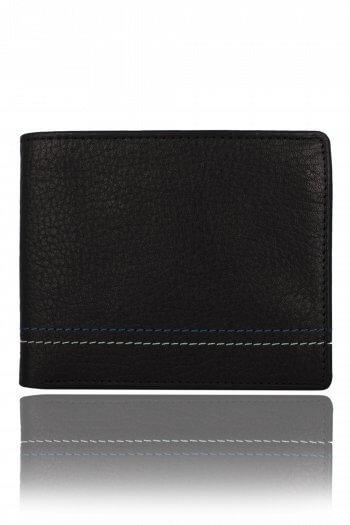 Ultra Slim Black leather Wallet