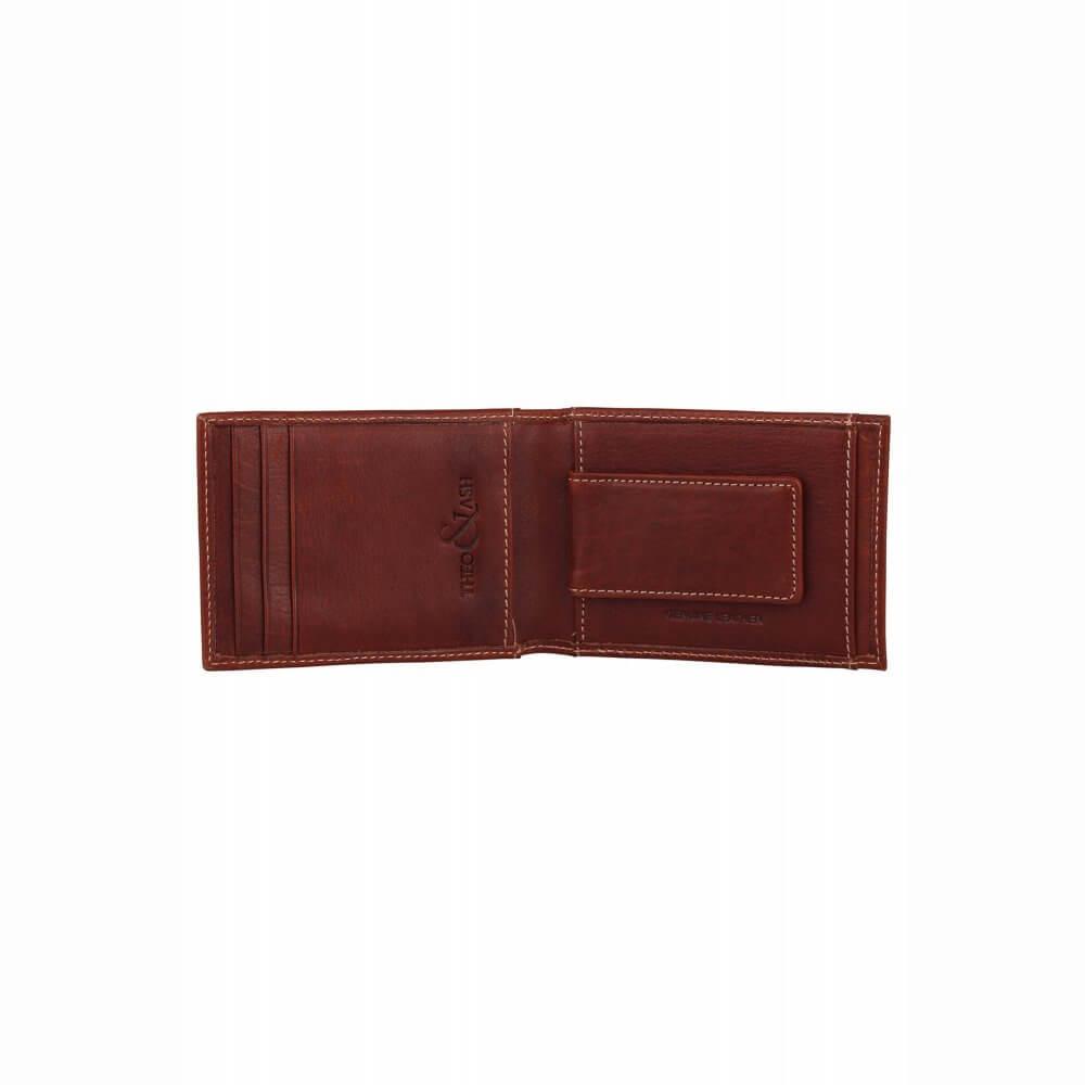 Theo Amp Ash Buy Rust Colour Minimal Classic Money Clip