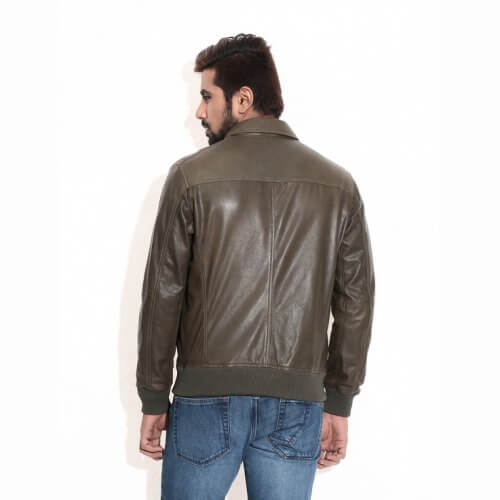 Men's Classic Pilot Leather Jacket