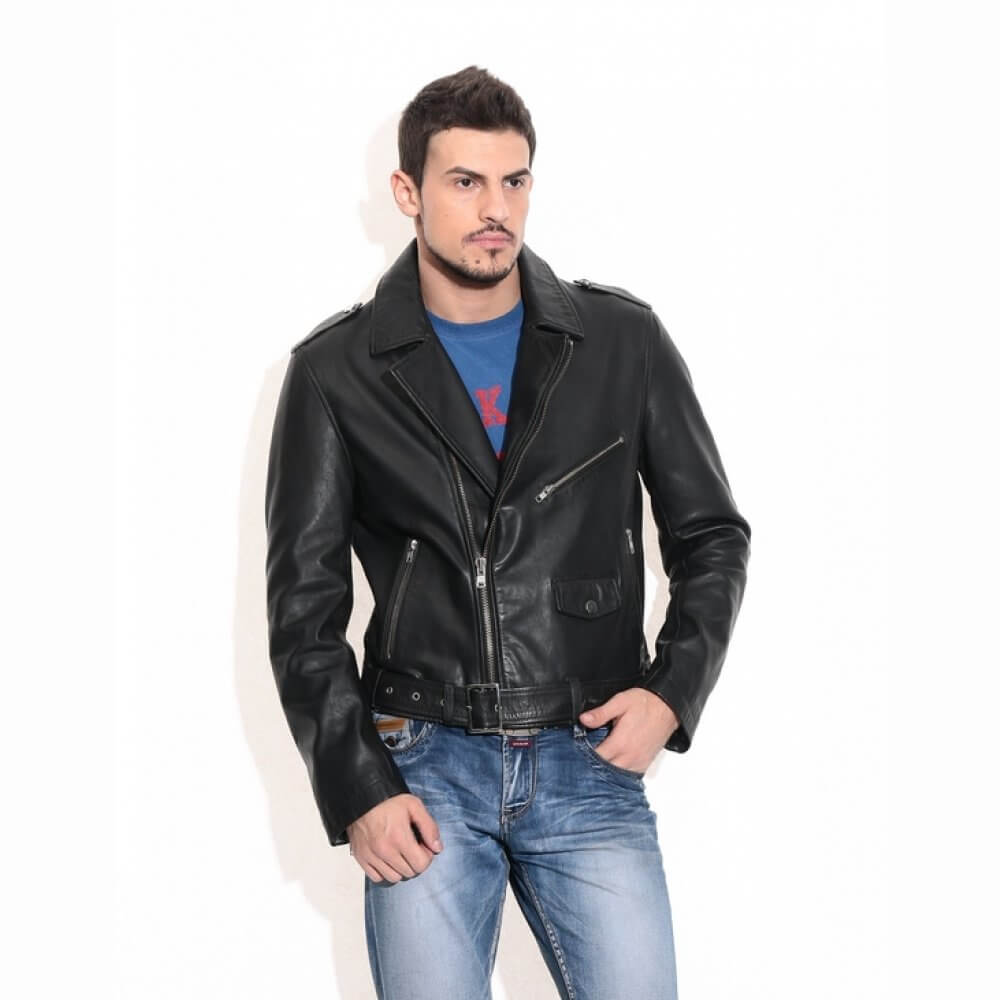 Theo Amp Ash Buy Men S Leather Jackets Online Black
