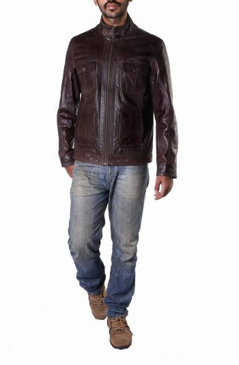 Men's Brown Field Jacket