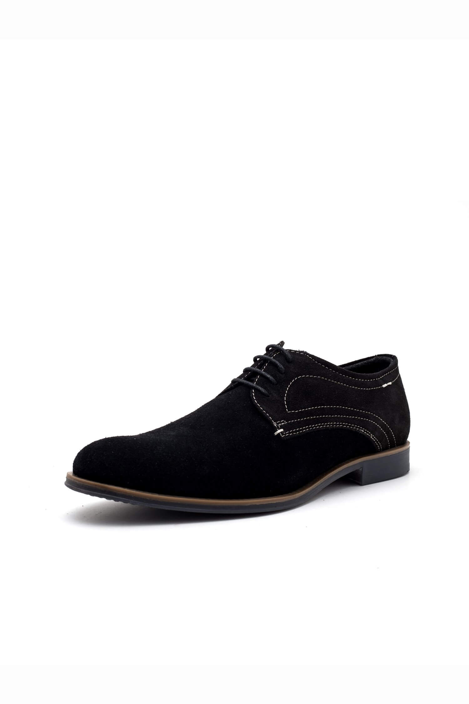 theo ash black suede derby shoes
