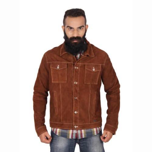 Vintage Brown Shirt Jacket